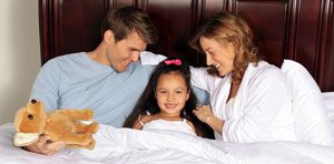 Plushbeds is designed for comfort of the whole family